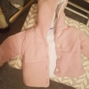 Jacadi 6-12  month quilt like coat
